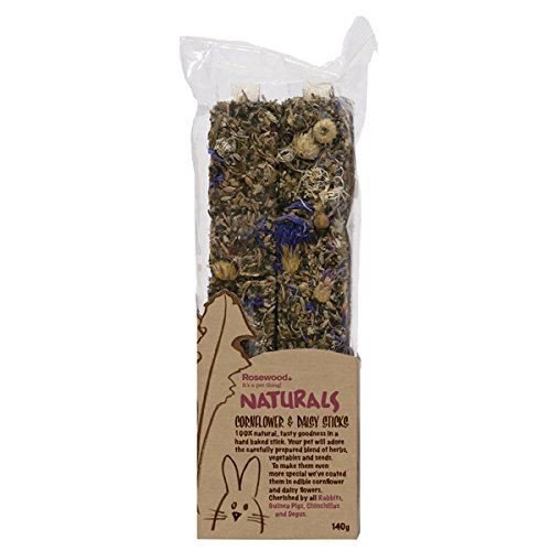 Rosewood Naturals Treat Cornflower and Daisy Sticks (Pack of 8)