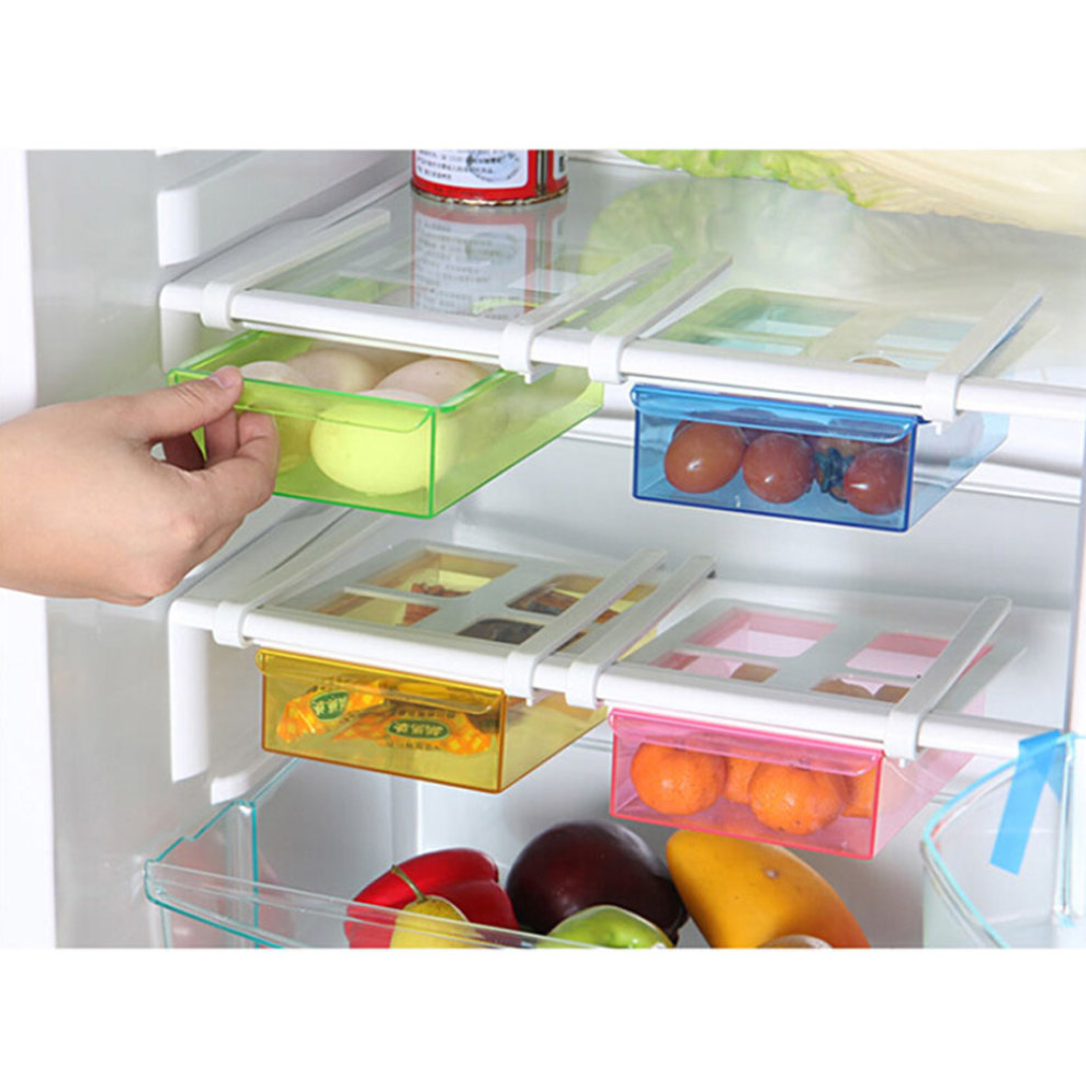 refrigerator drawer style storage eggs boxes small things organizer