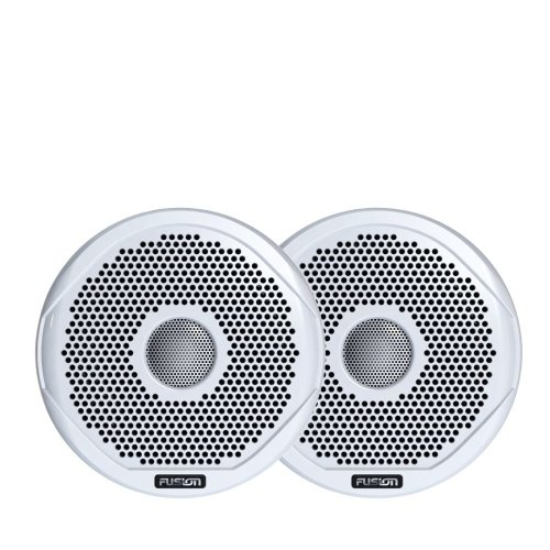 "Fusion FR4021 4"" 120W Marine 2 Way Loudspeaker - Pair¦87dB¦IP65 Waterproof¦White"