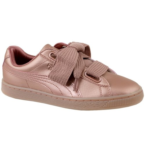 quality design 71634 7d5d5 Puma Basket Heart Copper 365463-01 Womens Pink sneakers