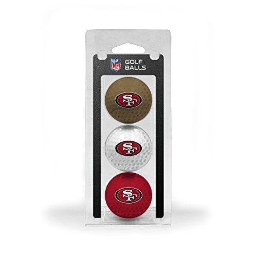 NFL San Francisco 49ers 3 Golf Ball Pack