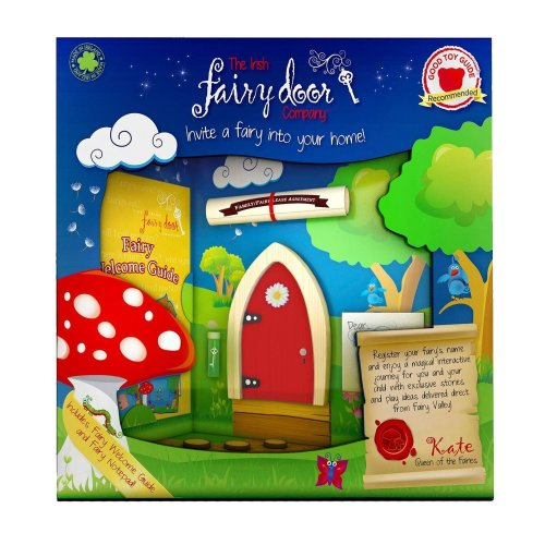 Irish Fairy Door Red Arched