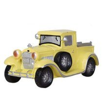 Children Piggy Bank Creative Money Cans Or Gift Ornaments, Yellow Classic Cars