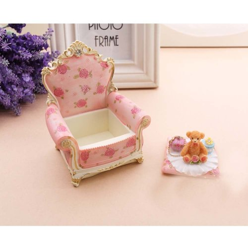Elegant and Retro Jewelry Box Rings Earrings Organizer Necklace Case/Tray Great Gift, I
