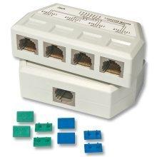 Lindy UTP/RJ45 Port Multiplier White network splitter