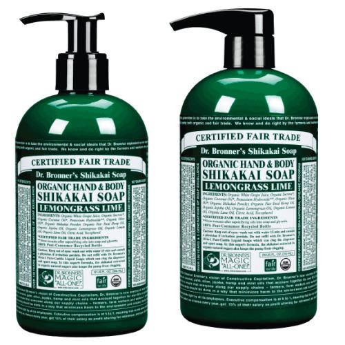 Dr Bronner Org Shikakai Lemongrass Hand Soap 708ml