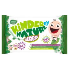 Jackson Reece Baby Wipes Kinder By Nature Natural Herbal Alcohol Free - 64 Wipes