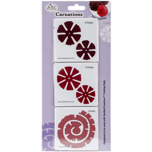 Quilled Creations Quilling Dies-Carnations