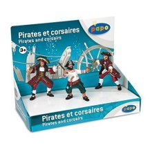 Papo Display Box Pirates & Corsairs - Free -  papo pirates corsairs display box free