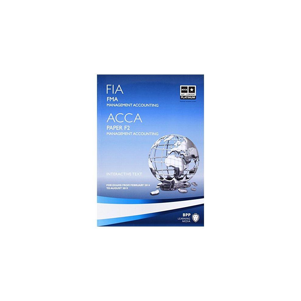 bpp acca f2 study text 2014
