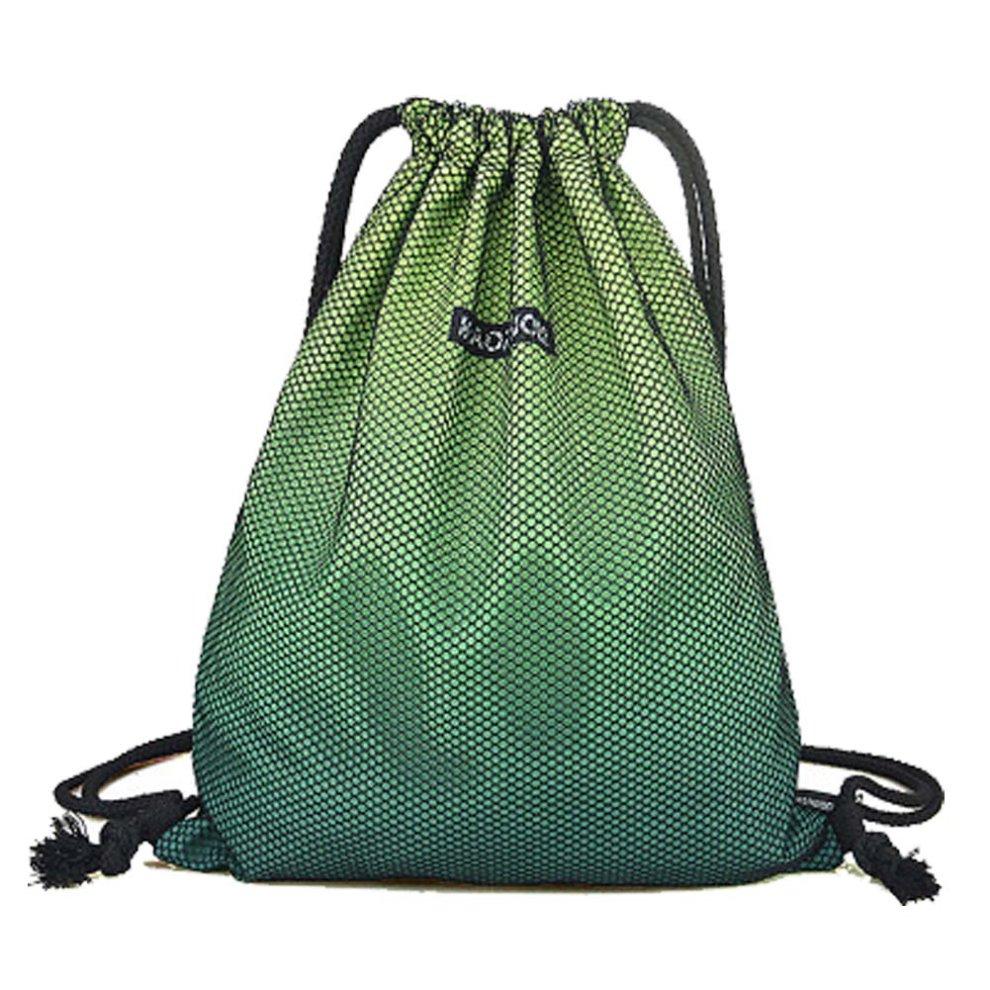 2ef7f9116183  E  Sports Drawstring Backpack String Bag Simple Backpack for Yoga Travel  ...