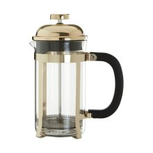 Allera Cafetiere, Gold, 600 ml
