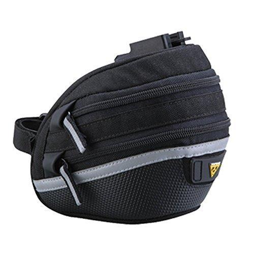 Topeak Wedge II Seat Pack - Black/Silver, Micro