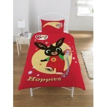 Bing Bunny Hoppity Vooosh Single Cotton Duvet Cover Set