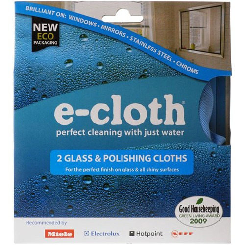 E-cloth E-cloth 2 X Glass/polishing Cloth