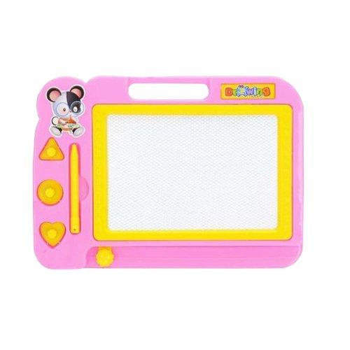 Pink Kids Painting Pad Educational Erasable Drawing/Writing Board