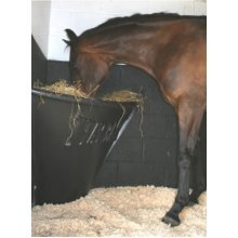 HAYBAR Horse/Pony Hay Bar - Horse Feeder Black