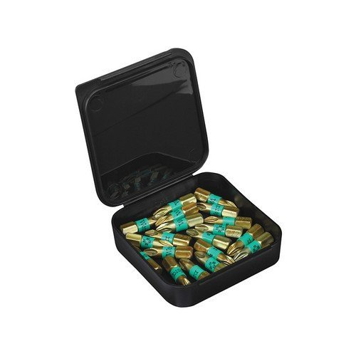 Wera 056710 855/1 BTH BiTorsion Pozidriv PZ1 Insert Bit Extra Hard 25mm Pack 10