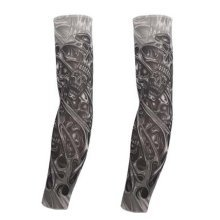1 Pair Arm Sleeves Fashion Arm Covers Outdoor Sports Arm Warmers Tattoo Sleeves