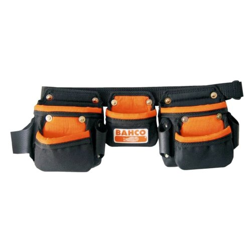 BAHCO Junior Tool Belt with Three Pouches Black 4750-JU3PB-1