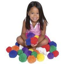 US Games color My Class 7cm Cotton Balls