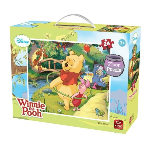 Kng05274 - King Floor Puzzles - 24 Pcs - Winnie the Pooh