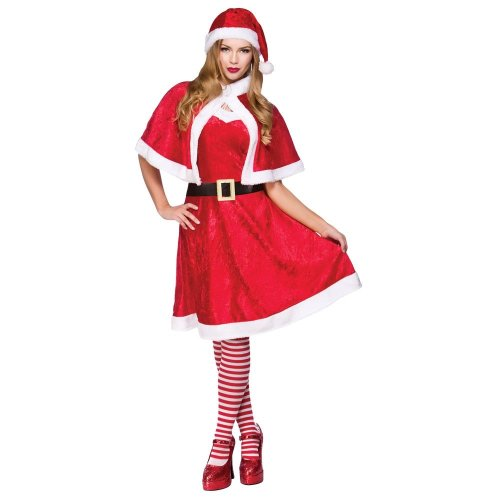 Little Miss Santa Claus Costume | Christmas