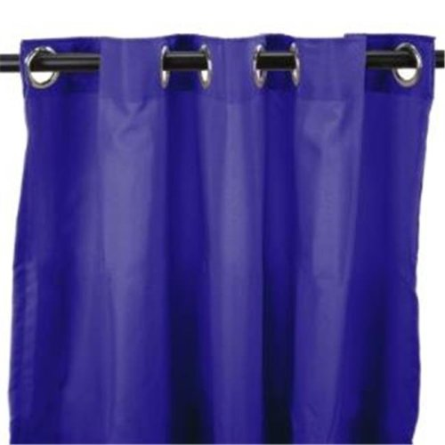 Jordan Manufacturing 3VOC5484-1325Q 544 in. x 84 in. Outdoor Curtain - Solid Blue