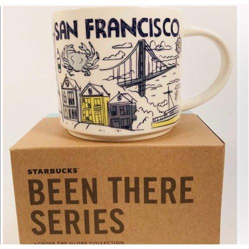 Starbucks Been There Series Mug San Francisco