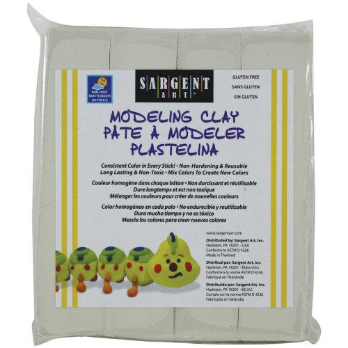 Non-Hardening Modeling Clay 1lb-Cream