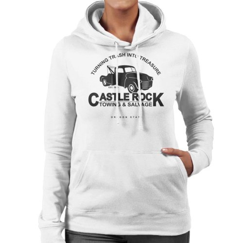 Castle Rock Towing And Salvage Stand By Me Women's Hooded Sweatshirt