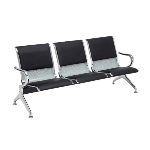 3 waiting bench Airport leatherette