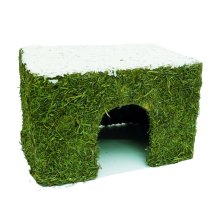 Naturals Wintery Hay Cottage Medium 27x20x18cm
