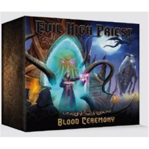 Petersen Games PSGEHP1 Evil High Priest - The Blood Ceremony Board Game