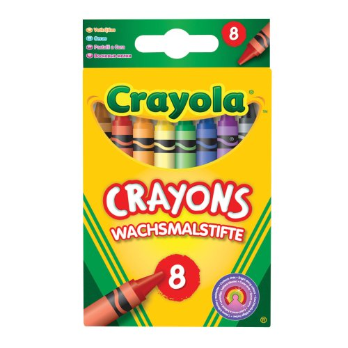 Crayola Wax Crayons (Pack of 8)