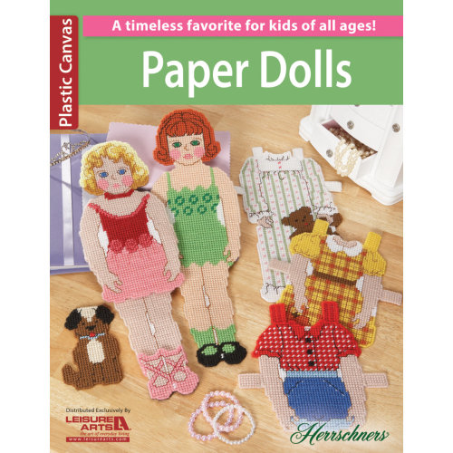 Leisure Arts-Paper Dolls