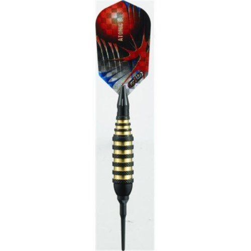 Viper 20-1350-16 Atomic Bee Black Soft Tip Darts - 16 Gram