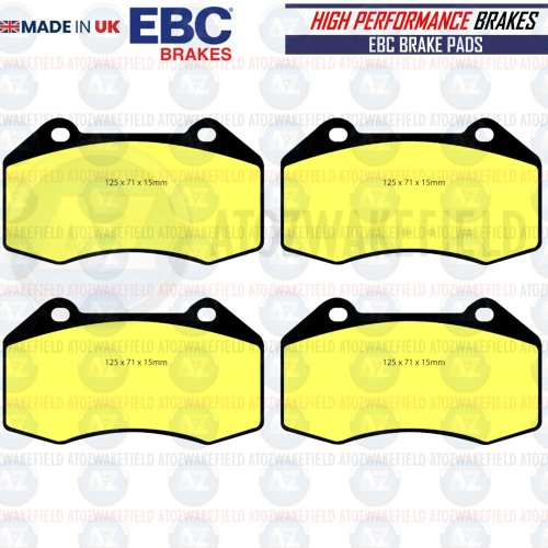 FOR RENAULT CLIO SPORT 197 200 MK3 FRONT EBC YELLOW STUFF BRAKE PADS PERFORMANCE