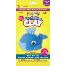 Foamies(R) Air-Dry Modeling Clay 4oz-Royal Blue
