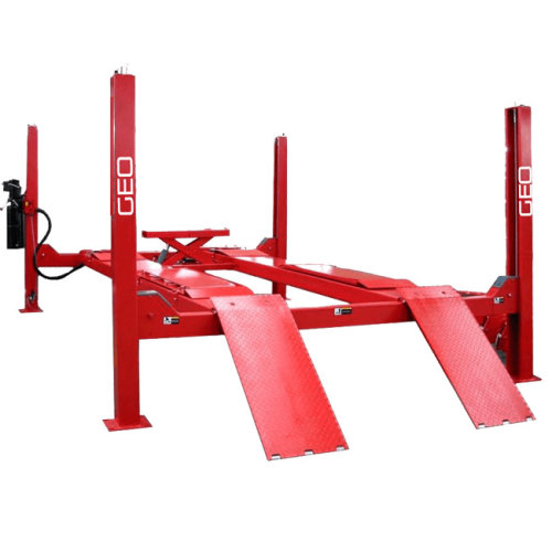 4.5 Tonne 4.8 Metre 4 Post Wheel Alignment Car Lift
