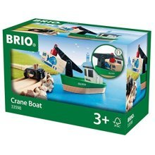 BRIO Crane Boat