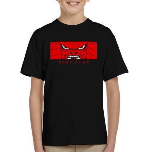 Samurai Jack Is Back Mask Kid's T-Shirt