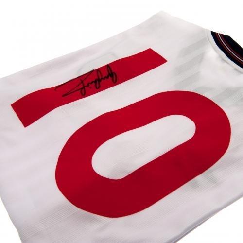 England F.A. Gary Lineker 1986 Signed Replica Shirt
