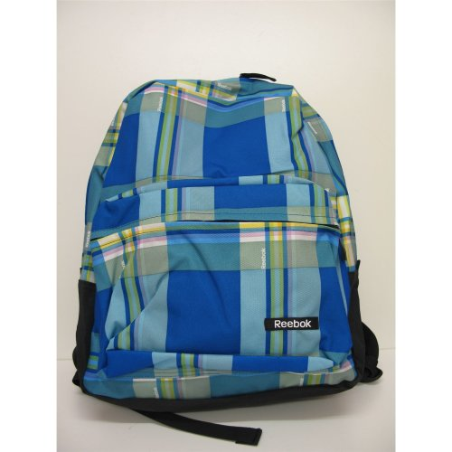 Reebok Backpack Blue Check Z03020 41x36x20cm