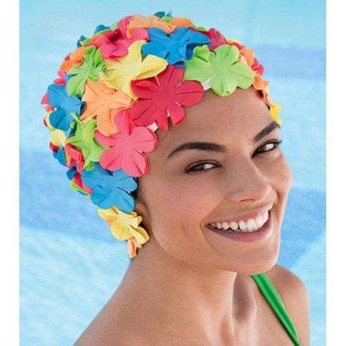 Fashy Multicoloured Petal Ladies Swim Hat