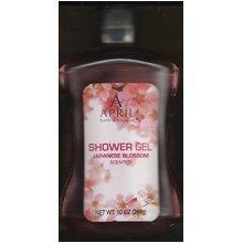 April Bath and Shower Japanese Blossom Scented Shower Gel 10 Oz (2 Pack)