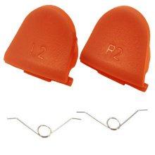 ZedLabz L2 R2 trigger button & spring set for Sony PS4 controller - orange