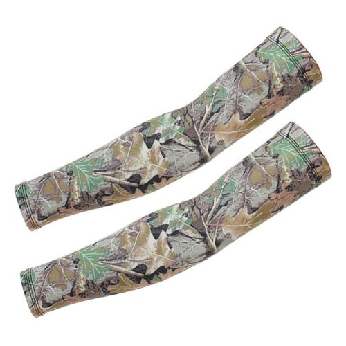 Camouflage Ice Silk Sleeves,Sun Protection,Riding,Fishing,Arm Guard,A11