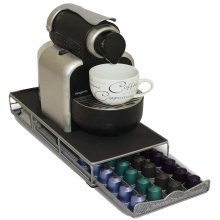 Nespresso Compatible Coffee Capsule Drawer And Stand - 48 Coffee Pods