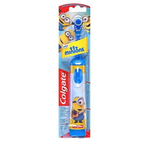 Colgate Minions Battery Toothbrush Blue